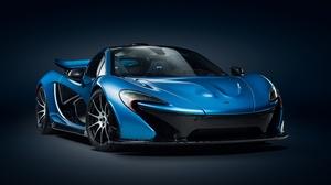 Blue Car Car Mclaren Mclaren P1 Sport Car Supercar Vehicle 4096x2304 Wallpaper