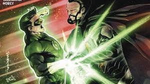 DC Comics Comic Books Comics Green Lantern Hal Jordan General Zod Fighting Portrait Display Artwork 1665x2560 Wallpaper