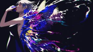 Anime Anime Girls Berry Verrine Artwork Dress Wings 1630x1000 Wallpaper