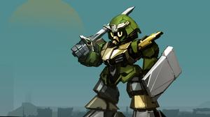 Samurai Shield Sword Warrior 3000x2000 wallpaper
