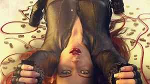 Black Widow Avengers Endgame Digital Art Gurin 3D Graphics Bullet Redhead Smoke Art Installation ART 1200x1500 Wallpaper