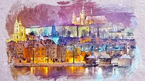 River Castle Prague 1920x1200 Wallpaper