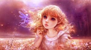 Fairy Girl 2033x1080 Wallpaper