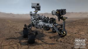 Perseverance Mars Robot Rover Mars Rover Computer Game NASA JPL Jet Propulsion Laboratory 3840x2160 Wallpaper