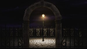 End Of Time Lamp Post Fence Chrono Trigger 1920x1080 Wallpaper