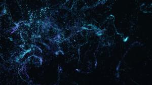 Blender Digital Art CGi Render Floating Particles Particle Universe 3840x2160 Wallpaper
