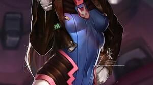 Artwork Overwatch D Va Overwatch 1249x2048 Wallpaper