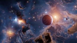 Sci Fi Planet 2560x1080 Wallpaper