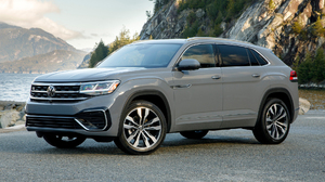 Car Suv Silver Car Vehicle Volkswagen Volkswagen Atlas Volkswagen Atlas Cross Sport Sel V6 R Line 1920x1080 Wallpaper