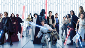 Anakin Skywalker Bb 8 C 3po Chewbacca Darth Maul Darth Vader Emperor Palpatine Finn Star Wars Han So 4823x2133 Wallpaper