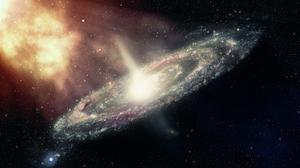 Andromeda Galaxy Space 2880x1800 Wallpaper