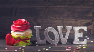 Cupcake Flower Love Valentine 039 S Day 5760x3840 Wallpaper