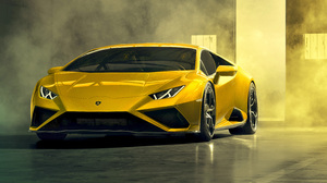 Lamborghini Huracan Lamborghini Car Yellow Car Sport Car Supercar 9353x6000 Wallpaper