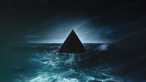 Artistic Pyramid 1920x1080 Wallpaper