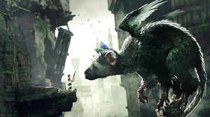 Artwork Game Characters Trico The Last Guardian Wings Tower Animals Creature PlayStation 3 Sony Play 10630x6644 Wallpaper