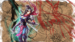 Woman Girl Warrior Sword Oriental Dagger 1920x1200 Wallpaper