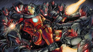 Iron Man Marvel Comics 1920x1358 Wallpaper