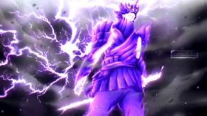 Lightning Sasuke Uchiha Susanoo Naruto 2500x1702 Wallpaper