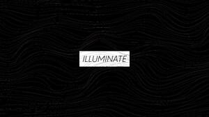 Artwork Digital Digital Art Typography Minimalism Waves Monochrome 3840x2160 Wallpaper