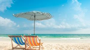 Outdoors Beach Sea Sky Horizon 2560x1700 Wallpaper
