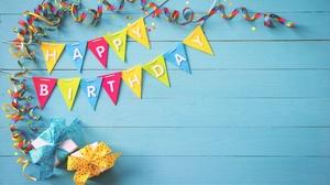 Birthday Gift Happy Birthday 5000x3206 wallpaper