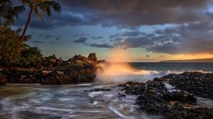 Coast Nature Sea Sky 2048x1367 Wallpaper