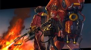 Black Survival Starcraft Team Fortress 2 3600x3000 wallpaper