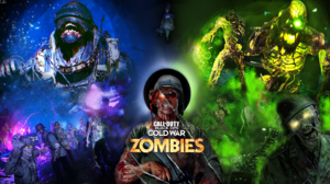 Video Games PC Gaming Collage Zombies Undead Call Of Duty Black Ops Cold War Zombies 1920x1080 Wallpaper