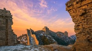 Man Made Great Wall Of China 2048x1366 Wallpaper