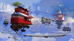 Futuristic Vehicle 3840x2150 wallpaper