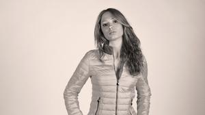 Woman Jacket Black Amp White 2000x1150 Wallpaper