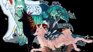 Fantasy Creature 3048x2584 wallpaper