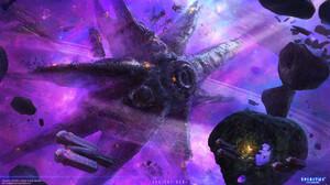 Sci Fi Space Station 1920x1080 Wallpaper