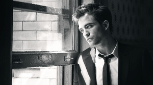Actor Black Amp White Boy Celebrity English Man Robert Pattinson Suit Window 2000x1335 Wallpaper