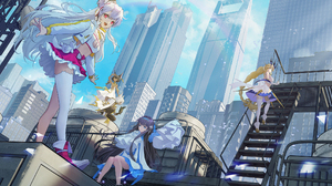 Kirino Ttk Anime Anime Girls Cityscape 2324x1200 Wallpaper