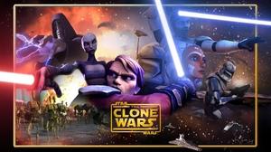 Ahsoka Tano Anakin Skywalker Asajj Ventress Captain Rex Count Dooku Obi Wan Kenobi 1920x1200 Wallpaper