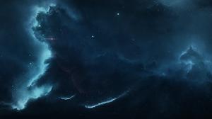 Nebula Space 11520x2160 Wallpaper