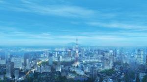 City Tokyo 3840x2160 Wallpaper