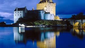 Man Made Eilean Donan Castle 1600x1000 Wallpaper