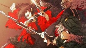Alucard Hellsing Edmond Dantes Fate Grand Order Fate Grand Order Hellsing 2172x1536 Wallpaper