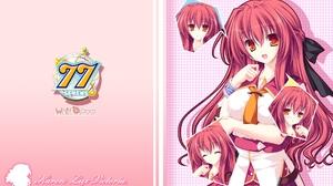 Sevens And Two Stars Meet Again Karen Lux Victoria Anime Series Anime Girls Redhead Long Hair Bangs  1920x1200 Wallpaper