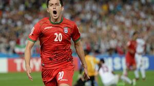 Iranian Sardar Azmoun Soccer 3320x2360 Wallpaper