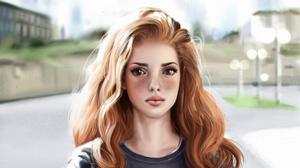 Girl Redhead Woman 3840x2160 Wallpaper