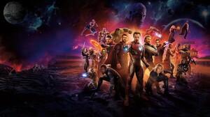 Avengers Infinity War Black Panther Marvel Comics Black Widow Captain America Doctor Strange Drax Th 5120x2880 Wallpaper