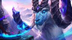 Goat Giant Zodiac Blue Ok Jae Lee 1920x1020 Wallpaper