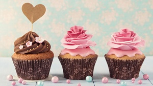 Cream Cupcake Icing Pastry Sweets 5760x3840 Wallpaper