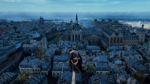 Assassins Creed Unity Paris 2560x1080 Wallpaper