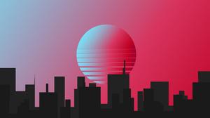 Building City Minimalist 3840x2160 Wallpaper