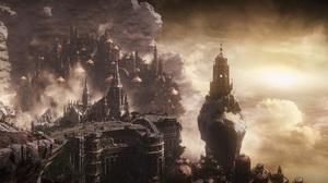City Fantasy 3840x2160 wallpaper