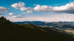 Cloud Forest Horizon Landscape Mountain Nature 4825x3196 wallpaper